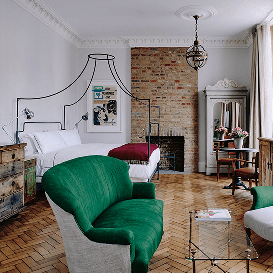 Grand Suite Overview at Artist Residence London