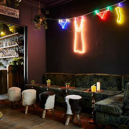 The Cocktail Shack - Interior Design, cocktail bars in Brighton