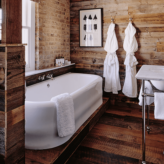The Loft Bathroom at Artist Residence London