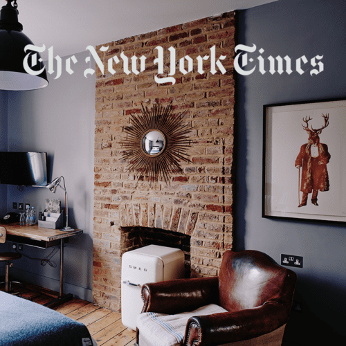 Artist Residence London in The New York Times