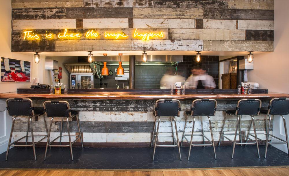 The Cambridge Street Kitchen, Artist Residence London