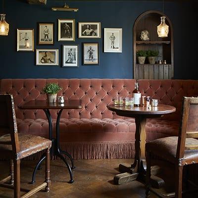Mr Hanburys Dining Room