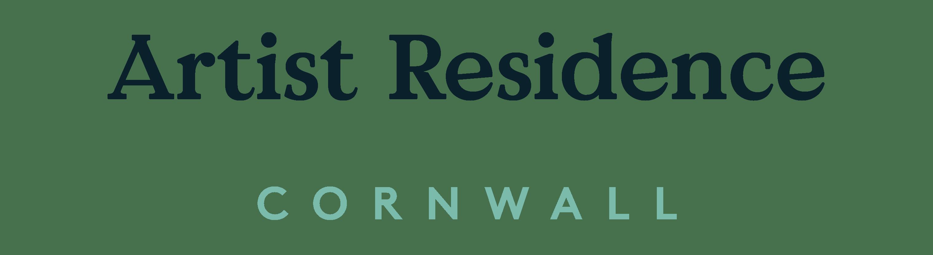 Artist Residence Logo - Artist Residence Penzance