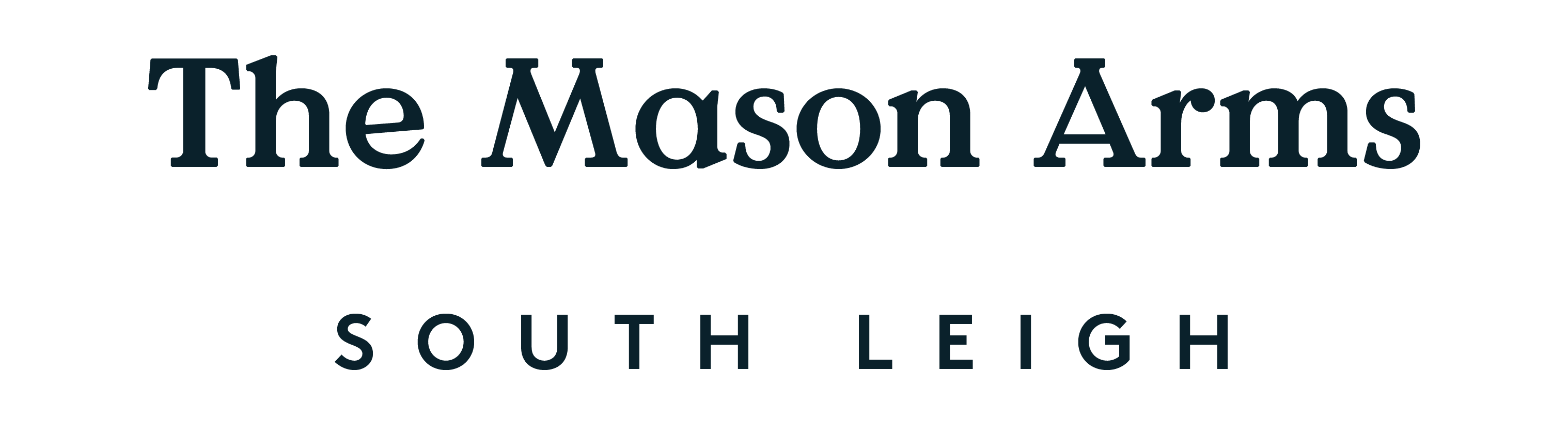 Artist Residence Logo - The Mason Arms